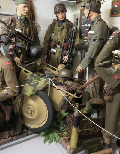 Deutsche Truppen im das Insel