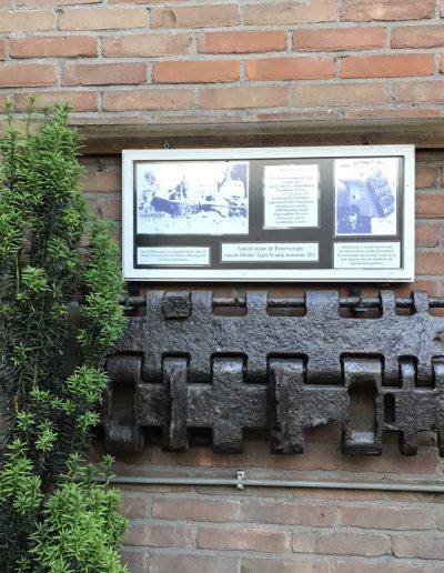 Reserve rups van een Duitse Koningstiger tank